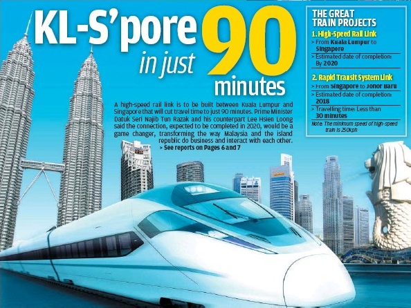 High Speed Rail (KL-Spore)
