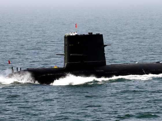 A Chinese navy submarine. Reuters file photo