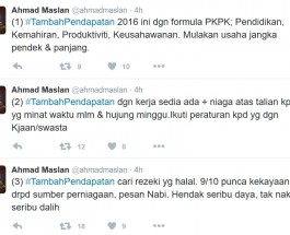 ahmad_maslan_job_tips_twitter