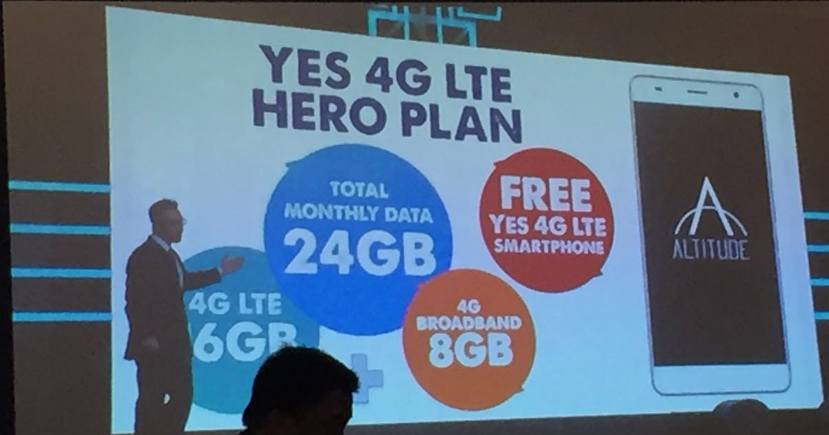 Yes 4G Hero Plan