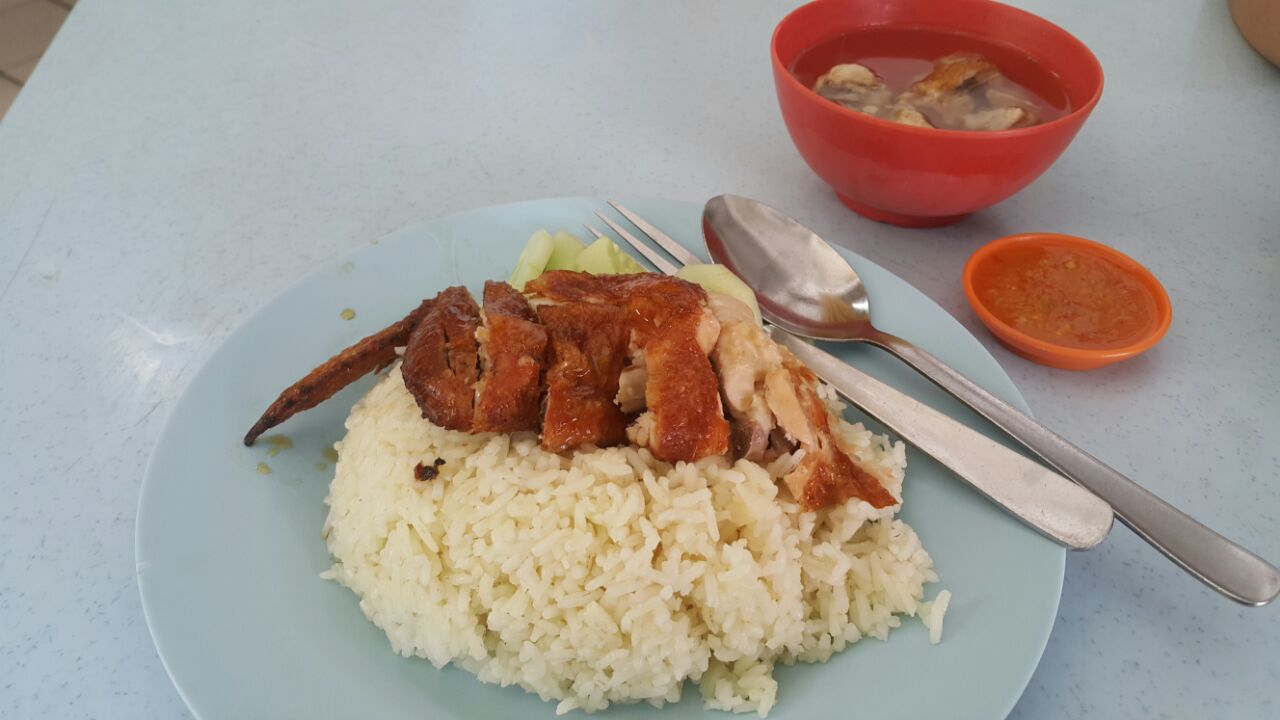 Wong Kee Chicken Rice + soup