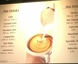 Increased Price Hot Drinks