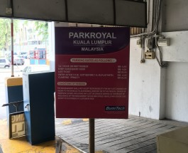 Parkroyal KL parking rate