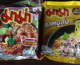 Mamalover Thai instant noodle