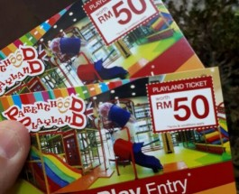 Parenthood Playland Sunway Pyramid near Padini