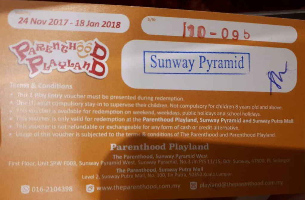 Parenthood Playland Sunway Pyramid