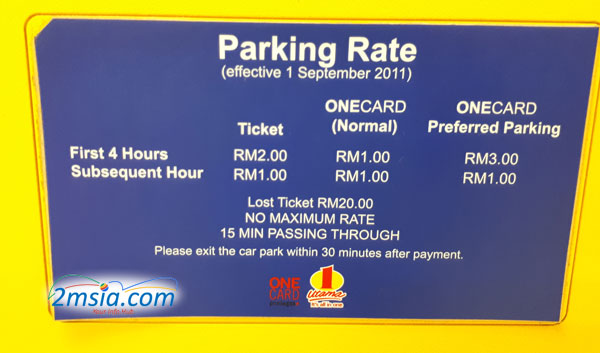 One-Utama-Parking-Rate_01