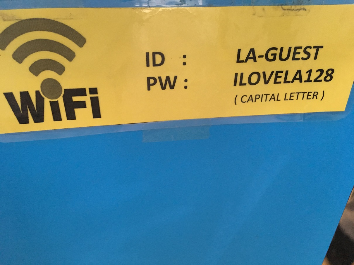 Wifi Password