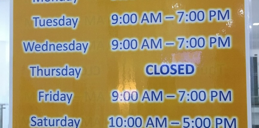Kindle House Operating Hours