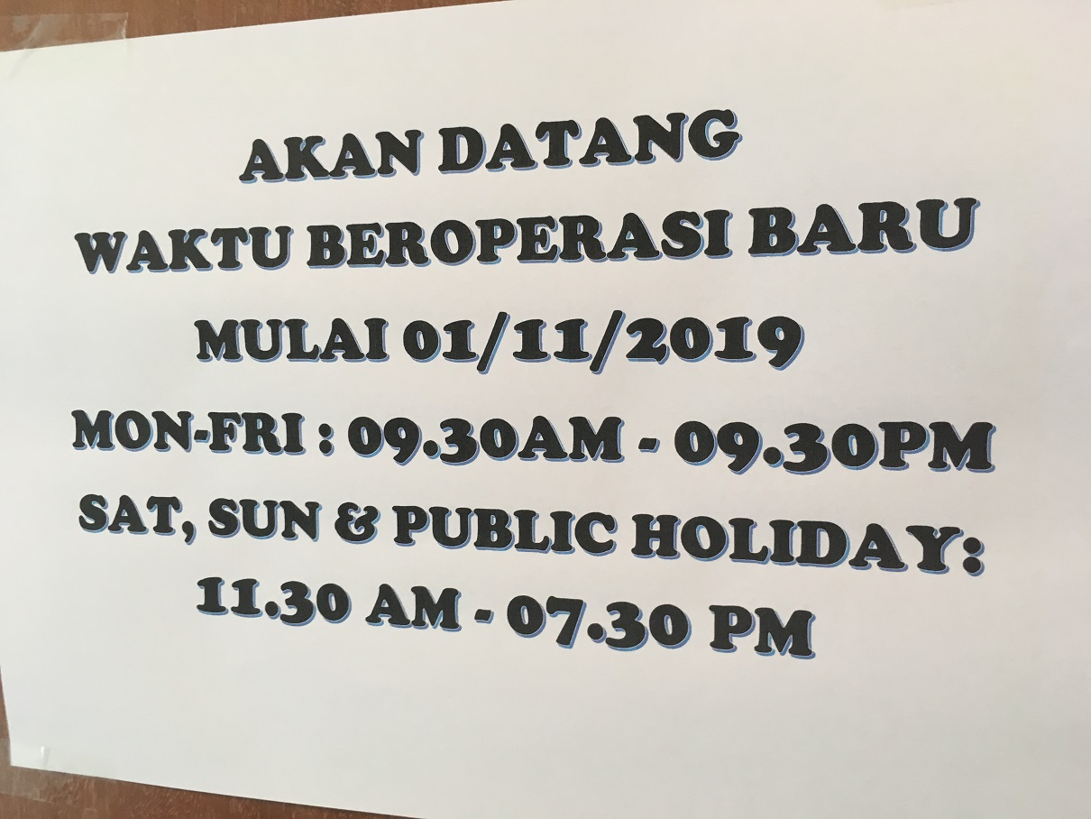 Klinik Keluarga Bandar Botanic New Operating Hours