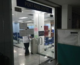Port Pass Centre Entrance