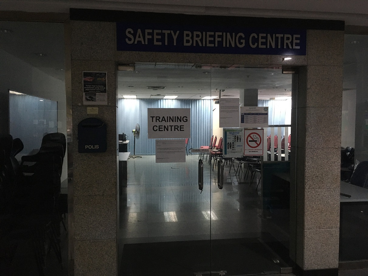 Safety Briefing Centre