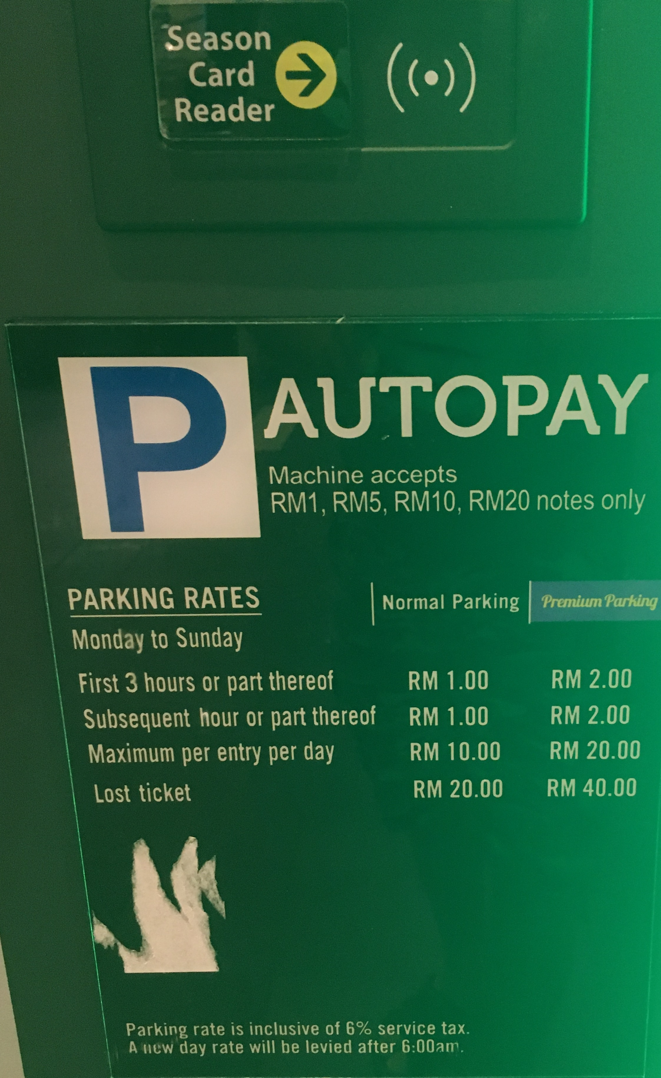 Sunway Geo Avenue Parking Fees